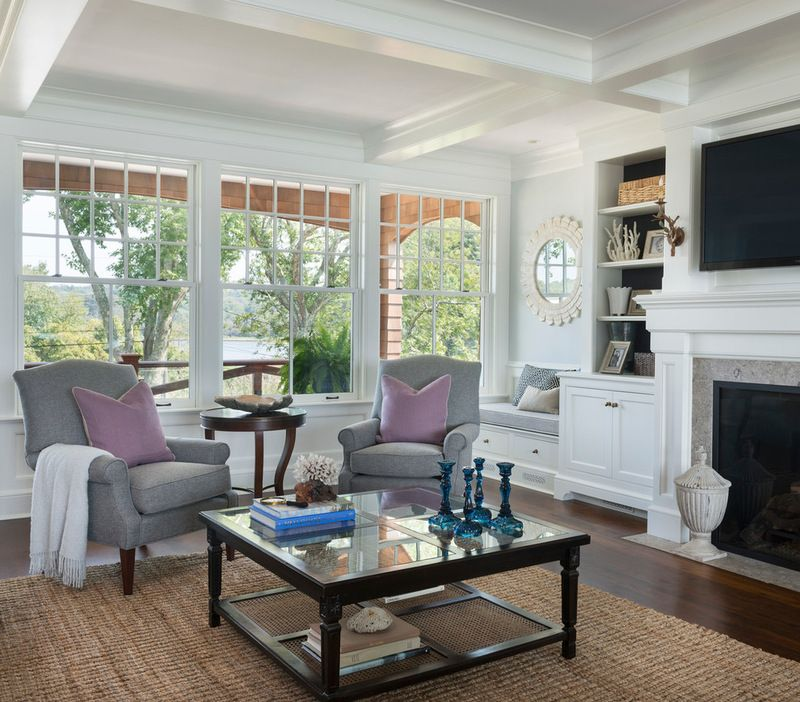 Houzz Home Design Ideas:  Houzz Tour: Classic Shingle Style For A Seaside Summer