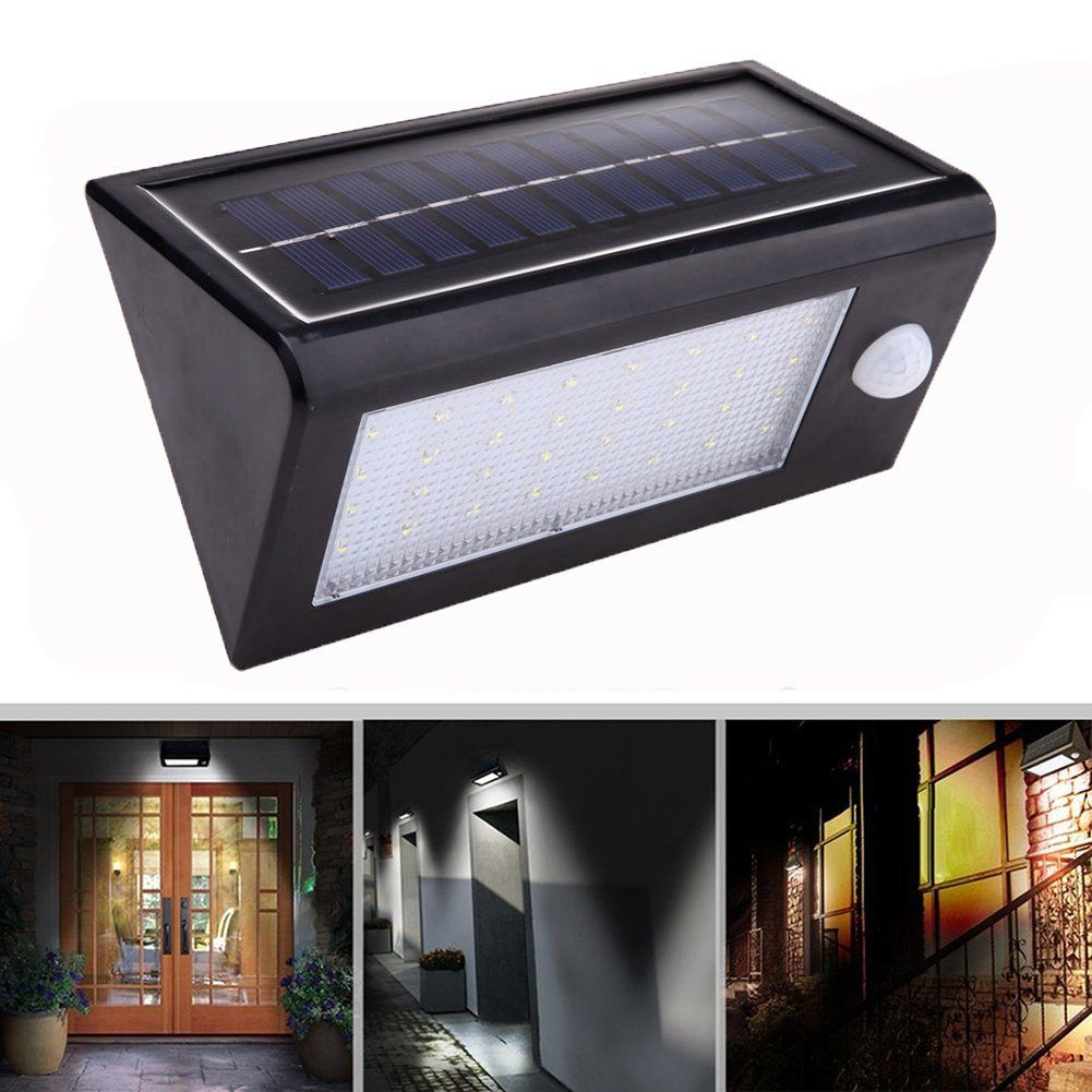 Wsmy 32led Solar Power Motion Sensor Wall Light Waterproof Outdoor Garage Courtyard Garden Patio Lamp Amazon Com Patio Lamp Courtyard Garden I Like Lamp