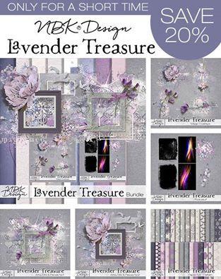 Lavender treasure by NBK Design on sale - Forum :: Oscraps.com
