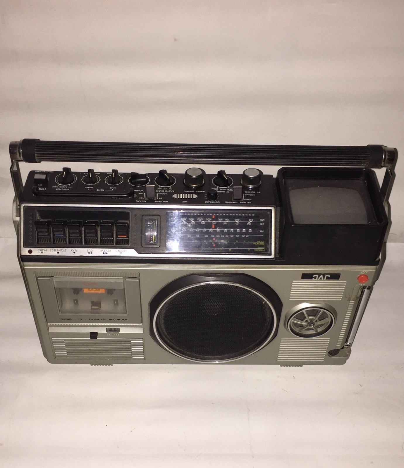 poste radio t l vision tv jvc 3080 ghetto blaster boombox vintage ebay jvc pinterest. Black Bedroom Furniture Sets. Home Design Ideas
