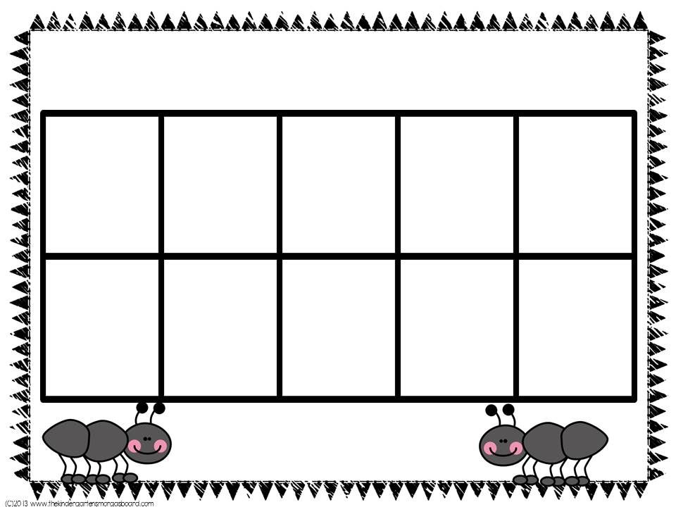 Search  Ten Frames Math And Kindergarten Smorgasboard
