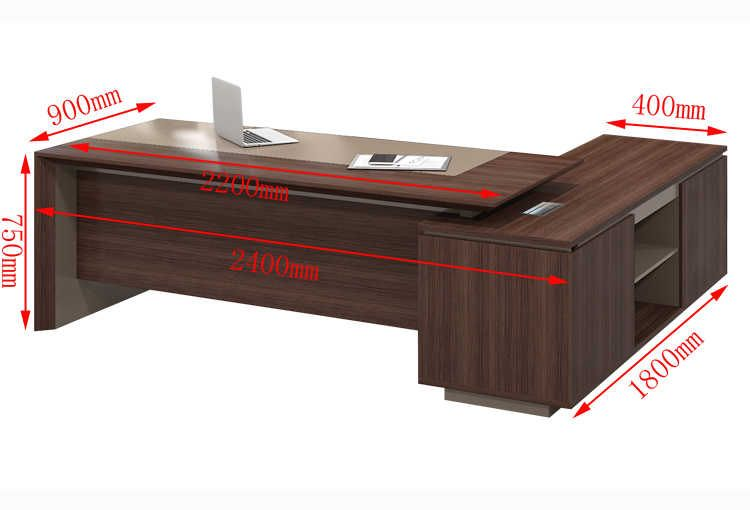 Wholesale Latest Modern L Shape Executive Wooden Office Tables