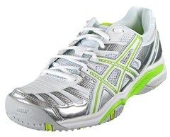 Asics Gel-Challenger 9 Women Round Toe Synthetic White Tennis Shoe