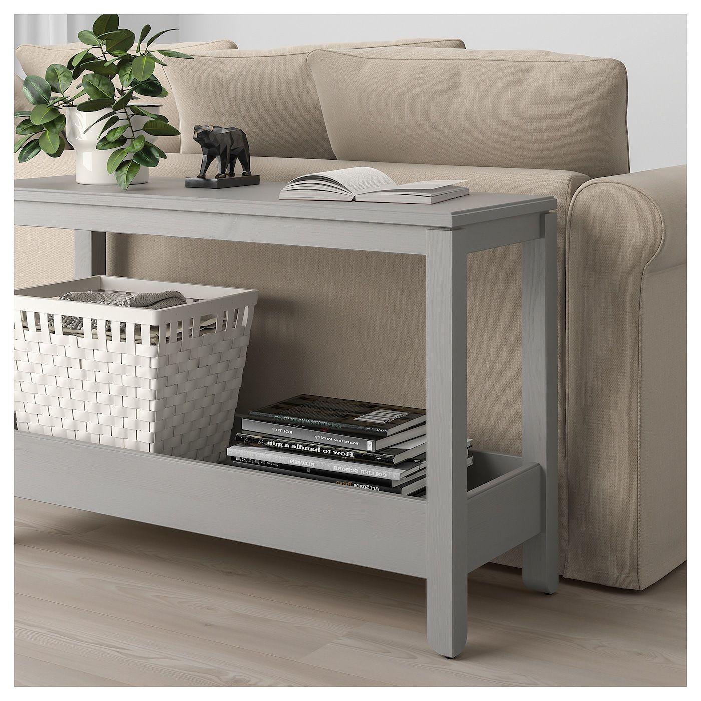 Havsta Ablagetisch Grau Ikea Deutschland Ikea Console Table Console Table Ikea