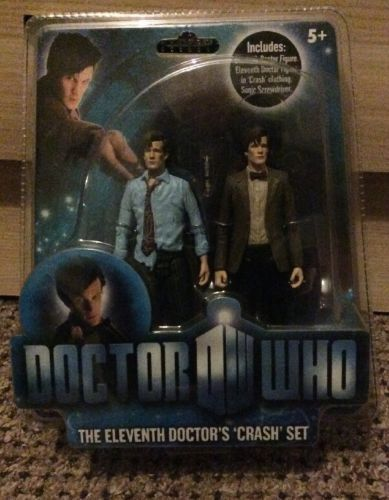 #Doctor who the #eleventh #doctor's 'crash' set action figures unopened ,  View more on the LINK: http://www.zeppy.io/product/gb/2/331828289435/