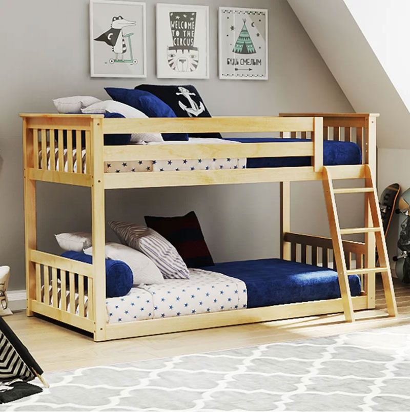 Best 14 Low Bunk Beds Solutions For Low Ceilings Low Loft 640 x 480