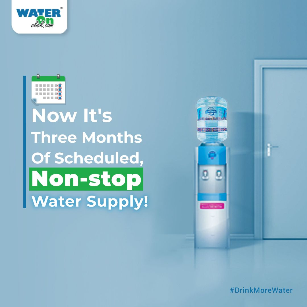 Tired Of Booking Your Watercans Again With Our Advanced Scheduleddelivery System You Don T Have To Worry About Drinkingwater Any More