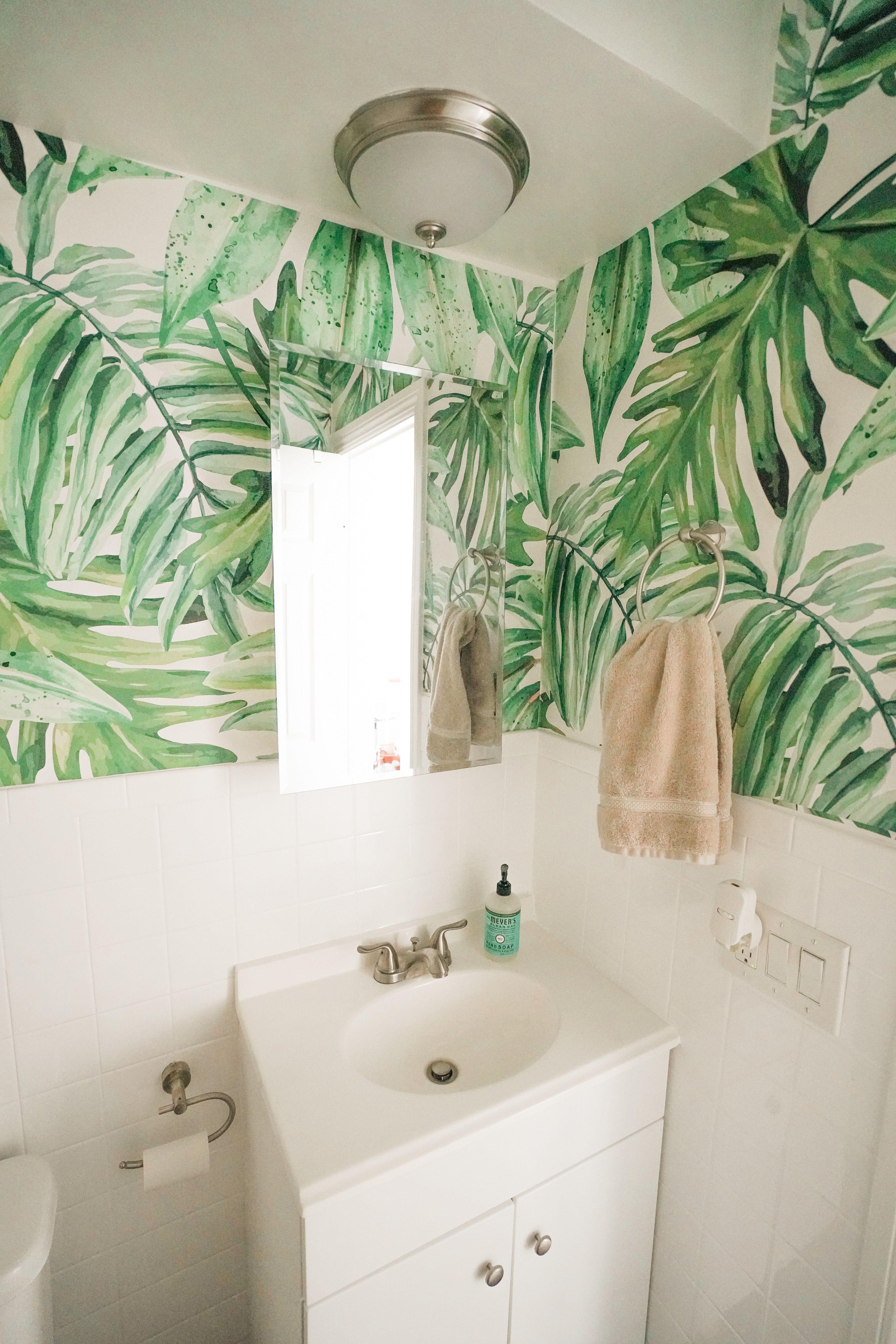 Greenery In Your Bathroom Zebra Bathroom Decor Palm Tree Bathroom Decor Bathroom Decor Zebra bathroom wall decor