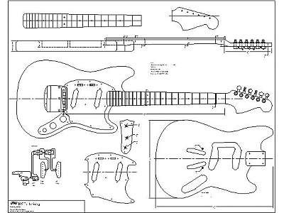 Http Www Tdpri Com Forum Attachments Tele Home Depot 77406d1300951272t Printable Guitar Template Pdf Must Fender Mustang Guitar Fender Jaguar Guitar Building