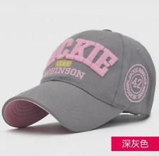 Fashion men women  baseball hat  with embroidery JACKIE letters peaked cap Grey http://ift.tt/1iFcTMU
