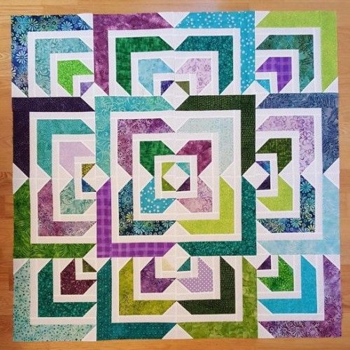 North Star Quilt - Tutorial | Beautiful Skills - Crochet Knitting Quilting | Bloglovin' #jellyrollquilts