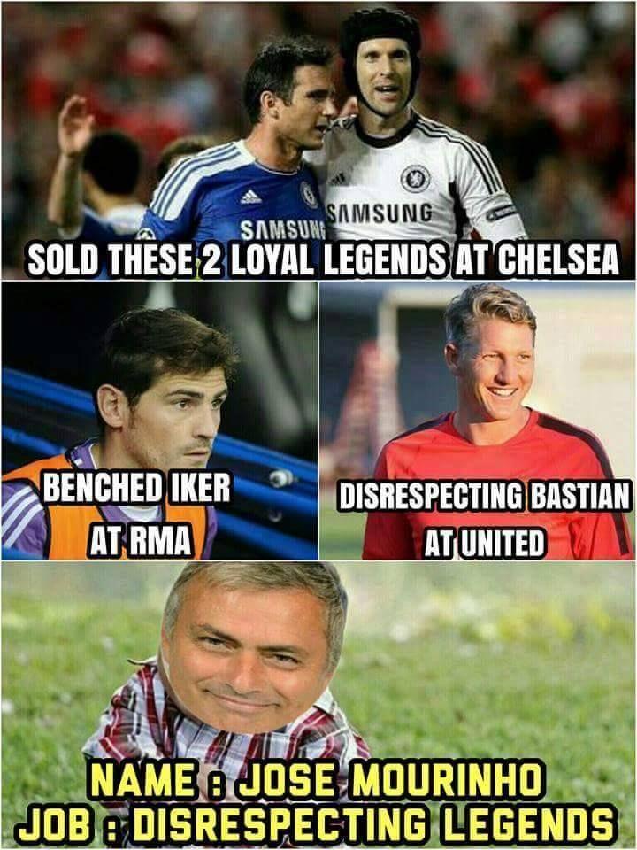 Jose Mourinho Football Jokes Football Quotes Soccer Funny