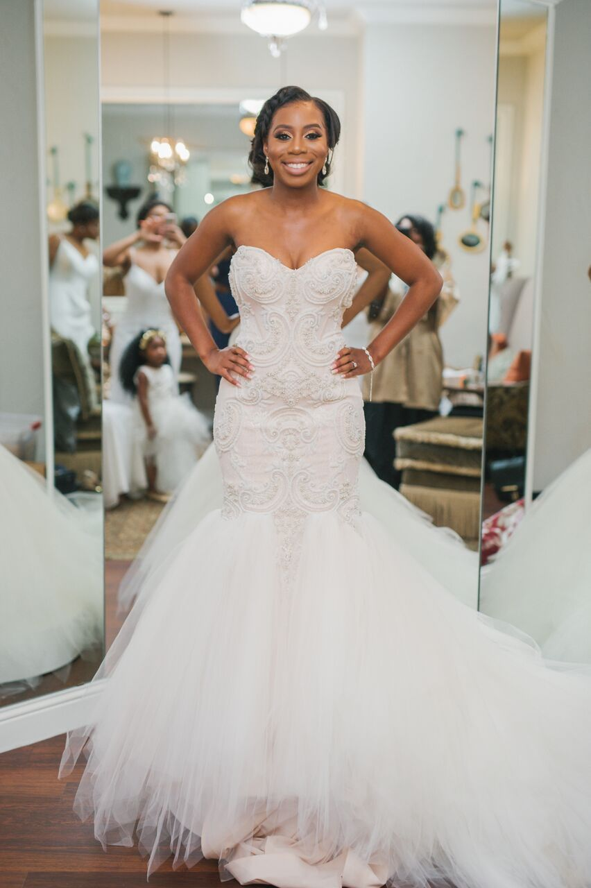 Aristide Mansfield Wedding Black Bride Dallas Wedding Texas Wedding ...