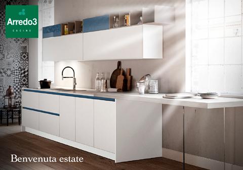 D\'ESTATE le nostre cucine #Arredo3 sono ancora più belle e luminose ...