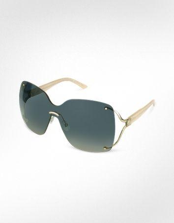 Christian Dior- Rimless Shield Sunglass♥