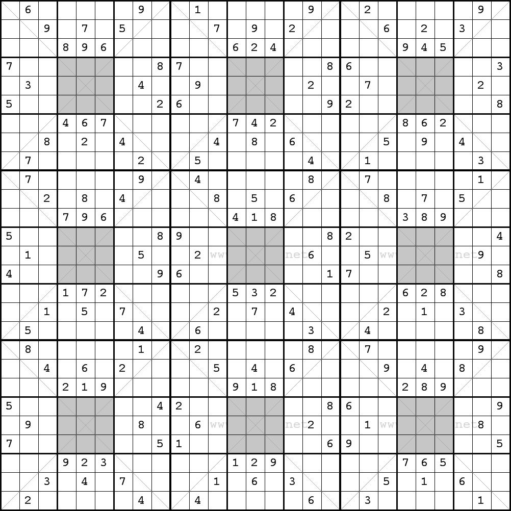 Pin by shoshanav on sudoku variations Sudoku puzzles