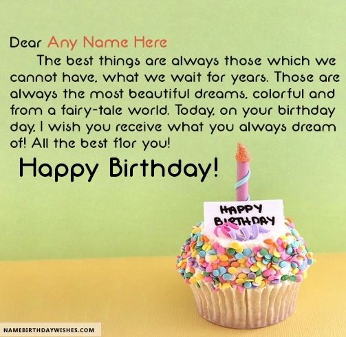 Birthday Quotes Best Happy Birthday Quotes With Name  Hbd Wishes  Pinterest