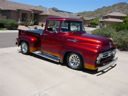 1956 Ford F100 Big Window Classic Truck Central Custom Trucks