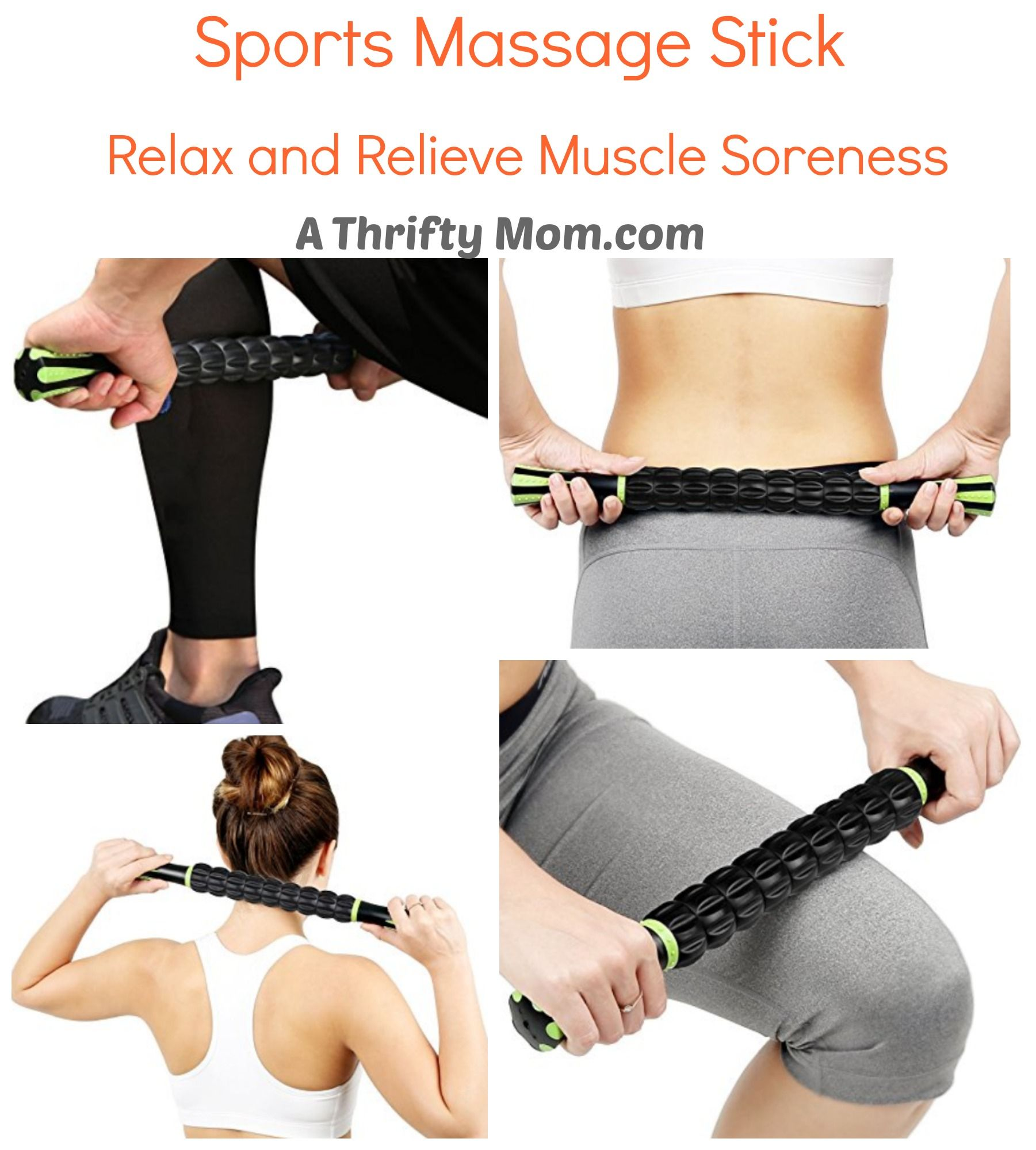 Sports Massage Stick Relax Relieve Muscle Soreness Sore Muscles Sports Massage Massage