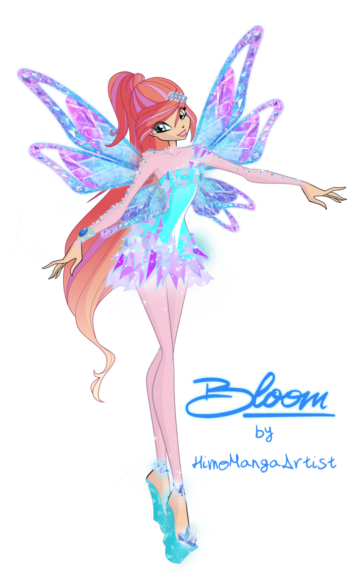 Bloom tynix power by himomangaartist on deviantart winx - Bloom dessin anime ...