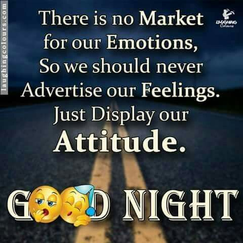 Good Night Thought Good Night Thoughts Best Quotes Emotions
