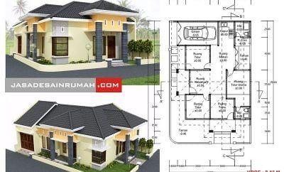 luxurius desain rumah sederhana 2 muka 41 perencana