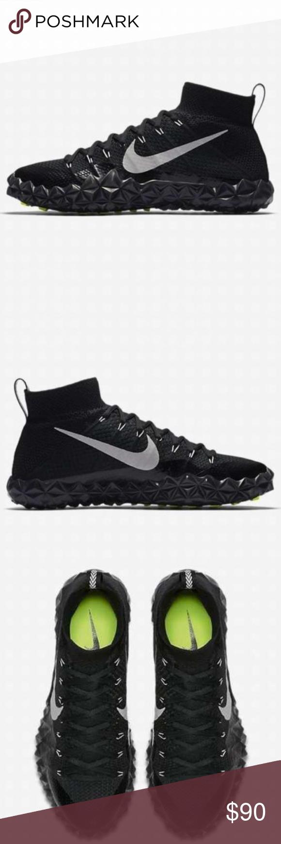 78a8dfc8251 Nike Alpha Sensory Turf Football Shoes NEW Nike Alpha Sensory Turf Football  Shoes Black Silver White 854312-001 Nike Shoes Athletic Shoes