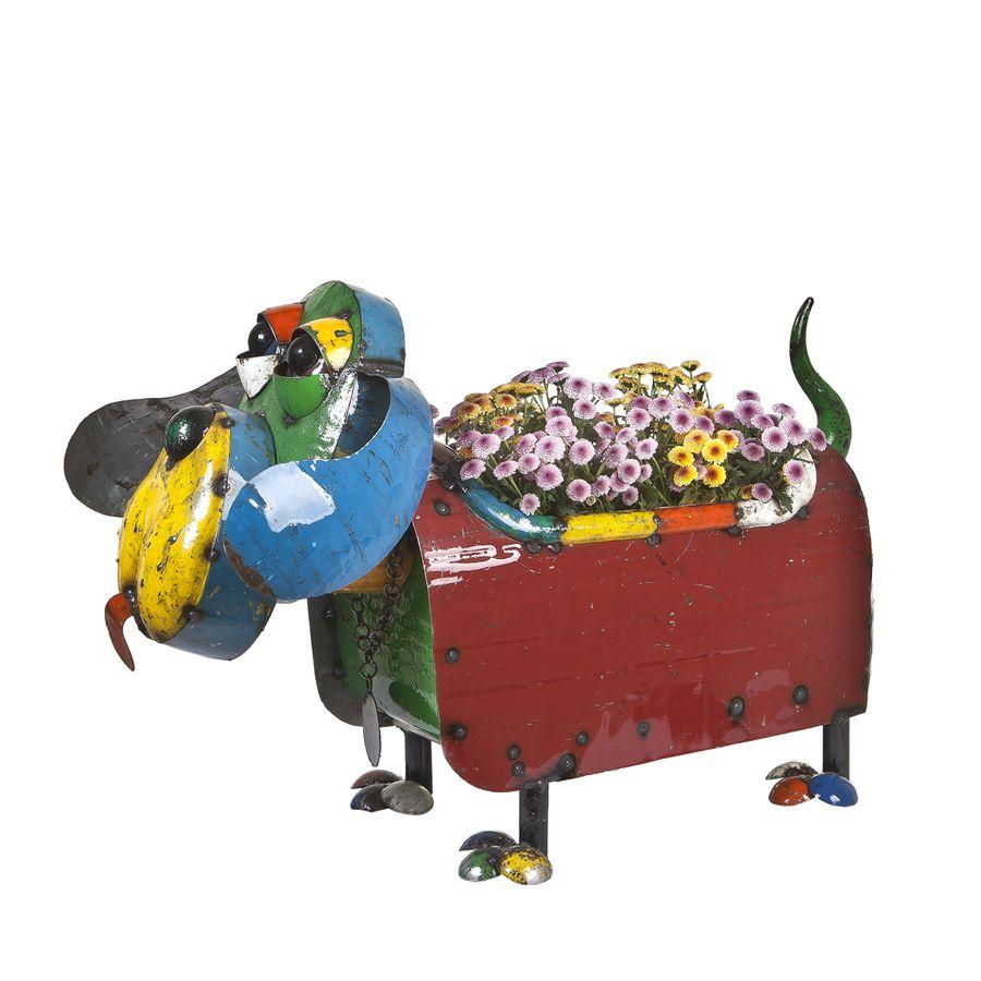 Hound Dog Planter