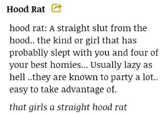 Define hoodrats