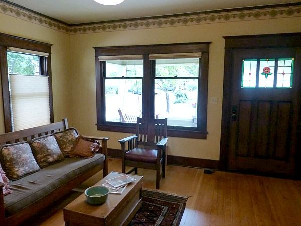 A Craftsman Bungalow In Oregon  Small Bungalow Bungalow And Endearing Bungalow Living Room Design Design Inspiration