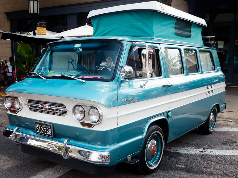 1964 Chevrolet Corvair Greenbrier Sportswagon | CORVAIR the one and ...