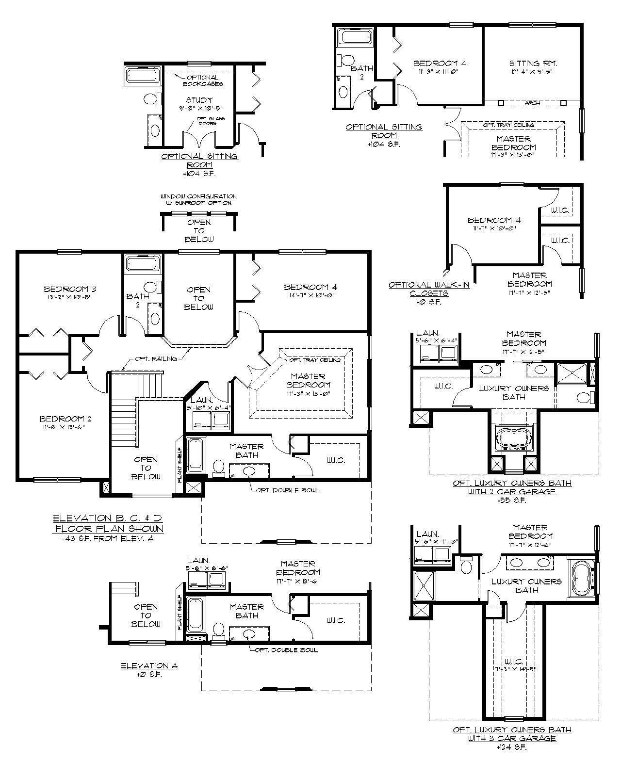 The Falcon Floor Plan By Garman Builders Second Floor Custom