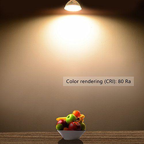 Liqoo 6er Mr16 Gu5 3 Led Lampe 5w Warmweiss 2800k Led Warmweiss Led Leuchtmittel
