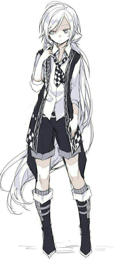 Pin By Metharia Novarani On Characters Anime Boy Long Hair White Hair Anime Guy Anime Long Hair