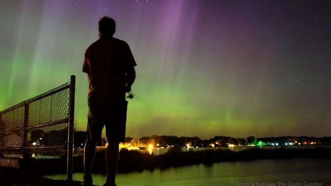 Chance To See Northern Lights Forecast Wednesday Night Northern Lights Forecast Northern Lights Travel Questions