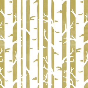 Hawthorne Threads - Birches - Birches in Brass
