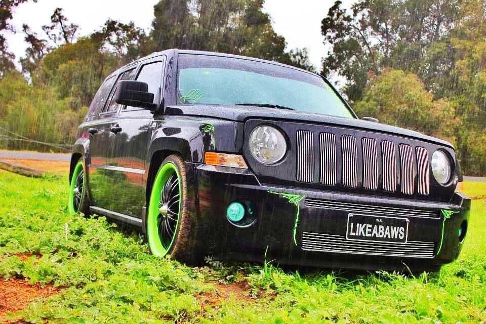 My Custom Lowered Slammed Jeep Patriot Jeep Patriot Jeep Patriot