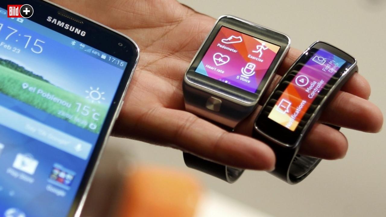 TYPEN UND TECHNIK ERKLÄRT Was macht eigentlich Smartwatches so clever?