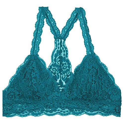 0c6c84e1cf Floral Lace Halter Bra Bralette Bamboo Cotton Sweat Fiber Lining Cute  Bustier   Check out this great product.(It is Amazon affiliate link)  miami