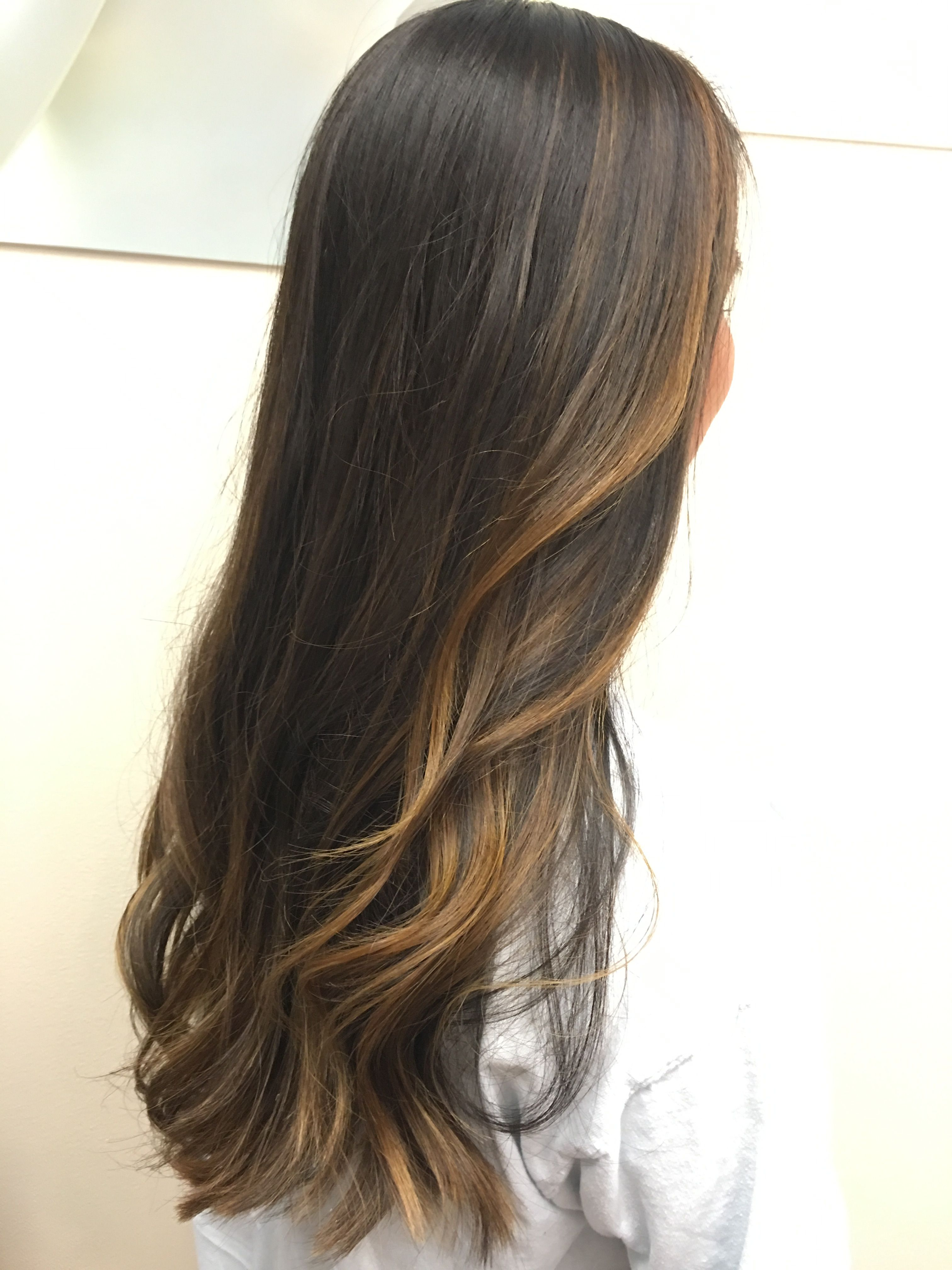 extra long hair balayage by www.hairbymaria | french