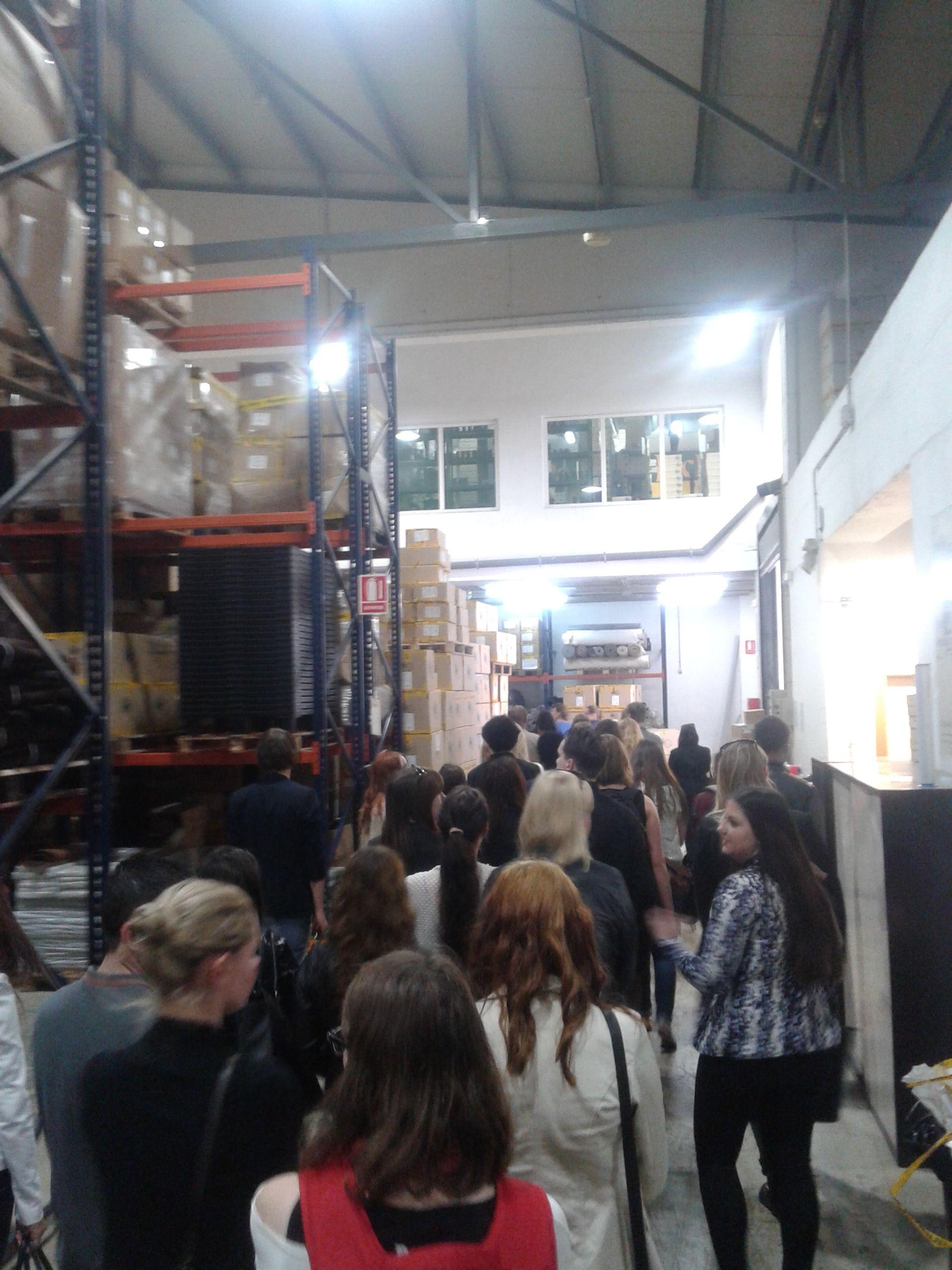 @Panama Jack #PanamaJackBoots Recorrido por las instalaciones de #PanamaJackBoots #HZEELAND #Holandeses #Alicante #UA #2014 #CSI #ALCexperience #ExperienceUA #SpanishCoursesUA #ErasmusUA2014