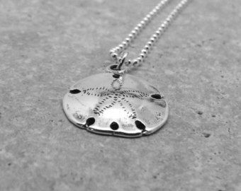 Sterling silver sand dollar necklace sand dollar jewelry sand sterling silver sand dollar necklace sand dollar jewelry sand dollar pendant charm necklace sterling silver jewelry aloadofball Images