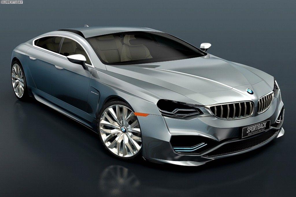 BMW Sportback Concept based on 7 Series