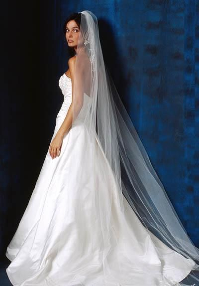 I love full length veils. | Weddings | Pinterest
