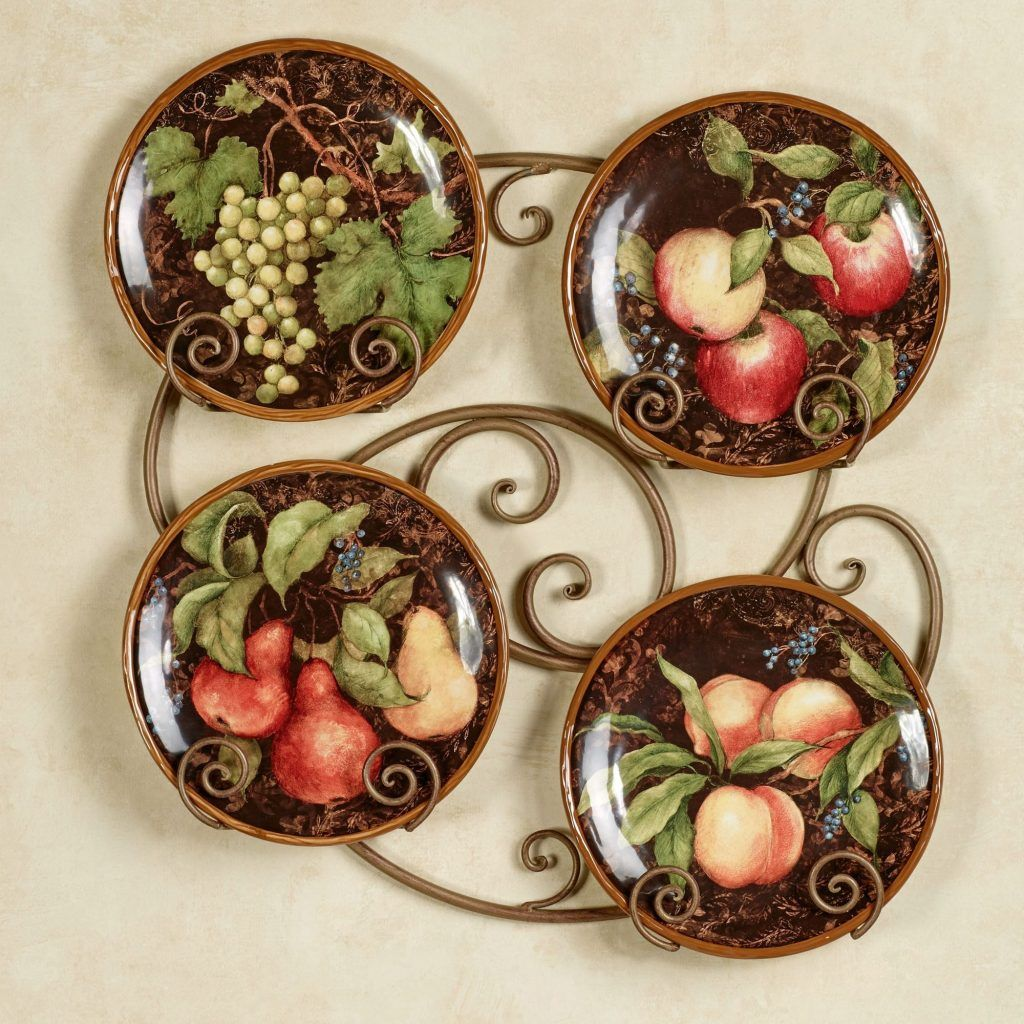 Fruit Kitchen Decorating Theme  Ceramic wall decor, Fruit kitchen