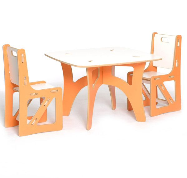 Swell Modern Sprout Kids Table And Chair Set 200 Made In The Usa Complete Home Design Collection Barbaintelli Responsecom