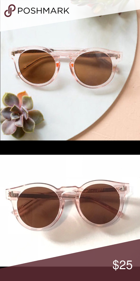 80eb01d4c7 Pale Pink Bonnie Clyde Sunglasses for Rachel Zoe From Bonnie and Clyde
