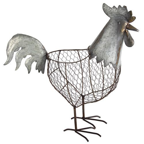 Rooster Statuette