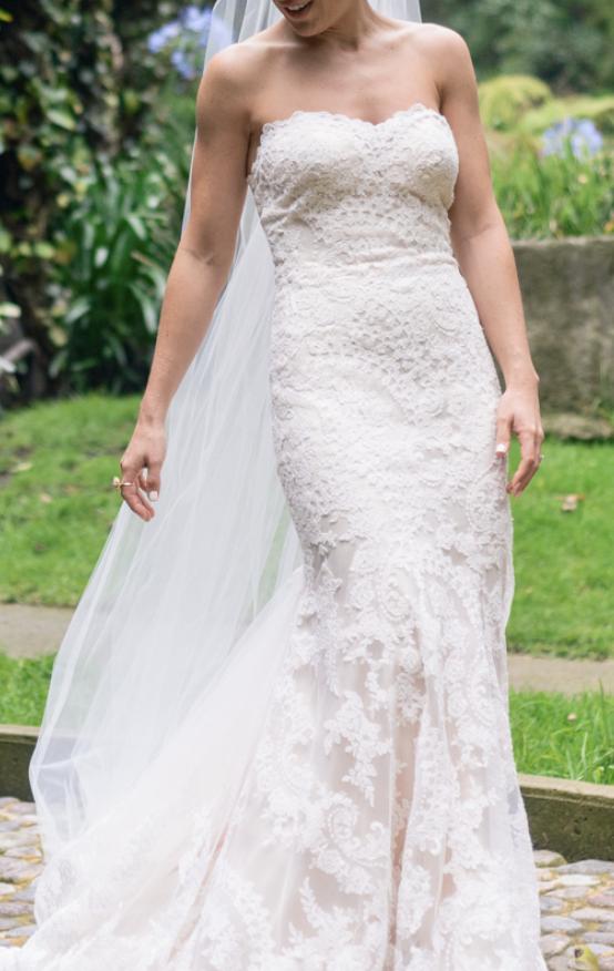 Eddy K Leigh Gown, $1,000 Size: 4 | Used Wedding Dresses | Wedding ...