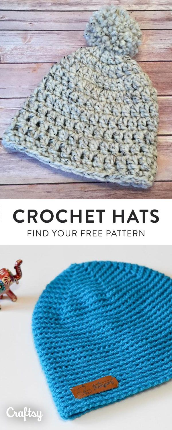 Our favorite crochet hat patterns to keep you cozy this Fall. Create ...
